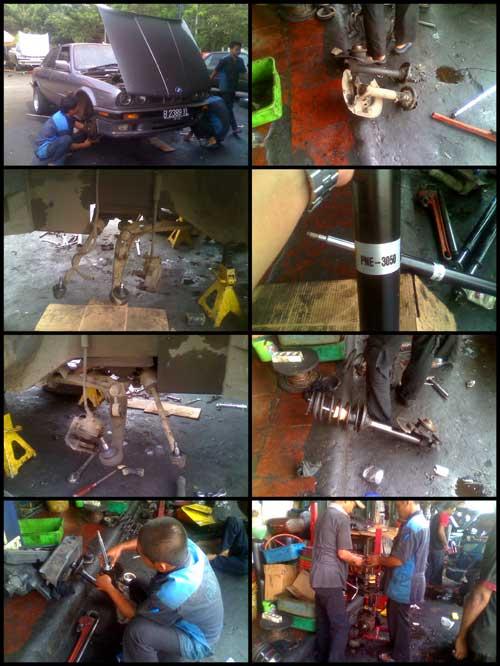 Ganti Shockbreaker Depan