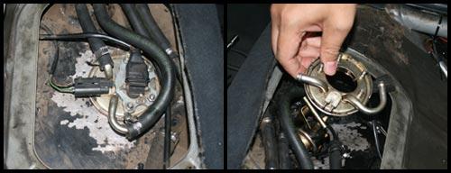 Fuel pump dilepas