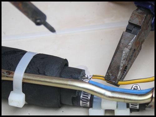 Fuel pump disolder
