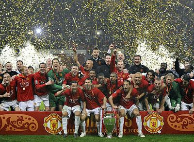Celebrate Champions League Title