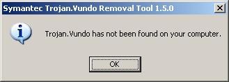 Symantec Trojan.Vundo Removal Tools 1.5.0